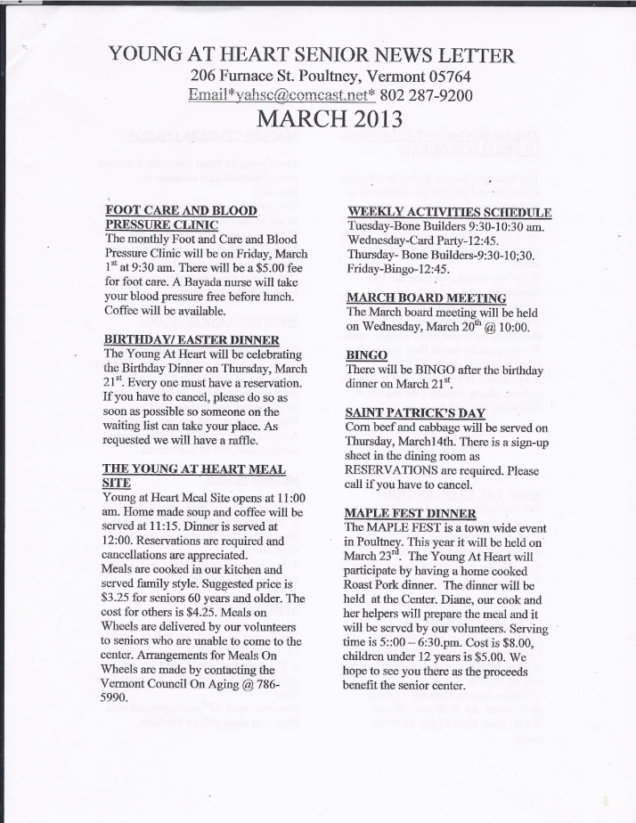 March 13 Page 1